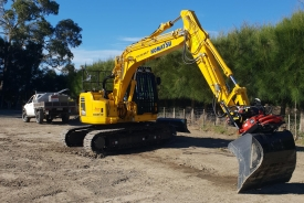 Digger for excavation