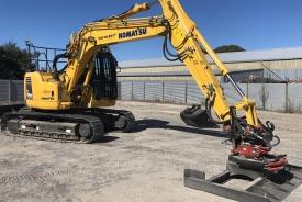 Digger for site preparation