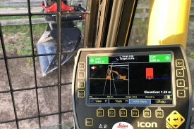 Digger with mapping tools