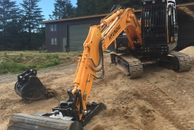 Digger for construction and excavation